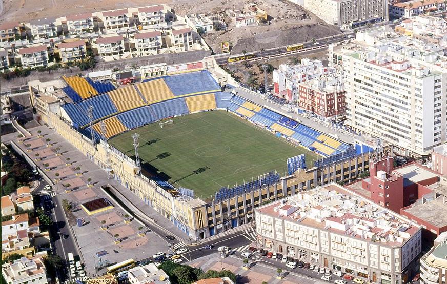 Las Palmas De Gran Canaria Estadio Insular Estadios De Espana