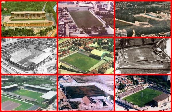 Oldest stadia