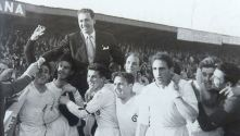 Cultural win promotion at the Campo El Ejido (10/04/55 vs Avilés 3-2)